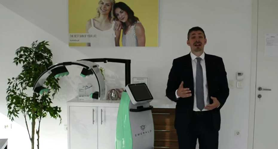 First European Company With Erchonia's Emerald Laser for Getting Rid of Aches and Pains