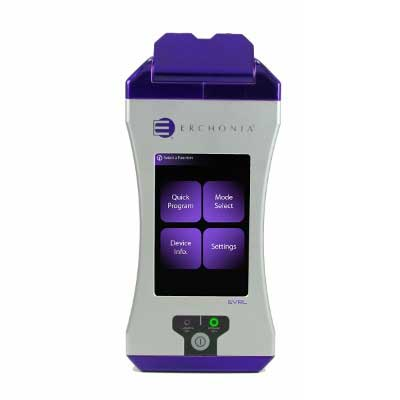 Erchonia EVRL laser for treating back pain, neck and shoulder pain, heel pain, and post-surgical pain
